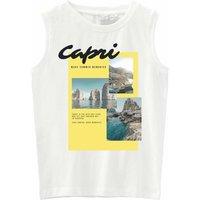 Name It! Jongens Hemd – Maat 152 – Wit – Katoen/elasthan