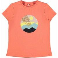 Name It! Meisjes Shirt Korte Mouw – Maat 152 – Perzik – Katoen/elasthan