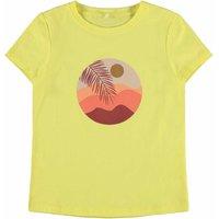 Name It! Meisjes Shirt Korte Mouw – Maat 140 – Geel – Katoen/elasthan