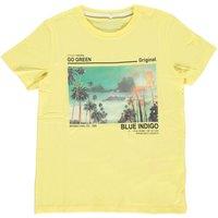 Name It! Jongens Shirt Korte Mouw – Maat 152 – Geel – Katoen/elasthan
