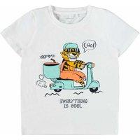 Name It! Jongens Shirt Korte Mouw – Maat 110 – Wit – Katoen