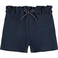 Name It! Meisjes Korte Broek – Maat 86 – Donkerblauw – Katoen/polyester/elasthan