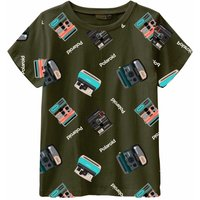 Name It! Jongens Shirt Korte Mouw – Maat 152 – All Over Print – Katoen/elasthan