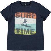 Name It! Jongens Shirt Korte Mouw – Maat 152 – Donkerblauw – Katoen