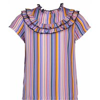NoNo! Meisjes Blouse Korte Mouw – Maat 164 – Diverse Kleuren – Polyester