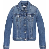 Tommy Hilfiger! Meisjes Spijkerjas – Maat 176 – Denim – Jeans