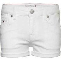 Tommy Hilfiger! Meisjes Korte Broek – Maat 164 – Wit – Jeans
