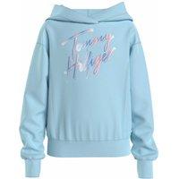 Tommy Hilfiger! Meisjes Trui – Maat 176 – Lichtblauw – Katoen/polyester/elasthan