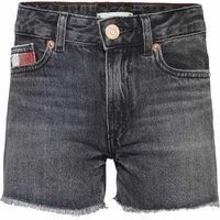 Tommy Hilfiger! Meisjes Korte Broek – Maat 176 – Donkergrijs – Jeans