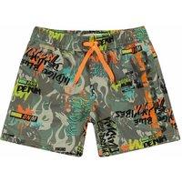 Vingino! Jongens Zwemshort – Maat 104 – All Over Print – Polyester