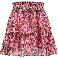 Vingino! Meisjes Rok – Maat 140 – All Over Print – Polyester