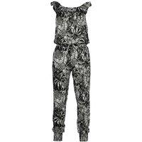 Vingino! Meisjes Jumpsuit – Maat 176 – All Over Print – Viscose