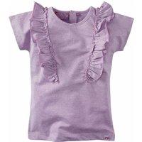 Z8! Meisjes Shirt Korte Mouw – Maat 140 – Lila – Katoen/metaal