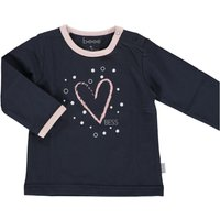 Bess! Meisjes Shirt Lange Mouw – Maat 74 – Donkerblauw – Katoen/elasthan