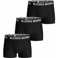 Bjorn Borg! Jongens 3-pack Boxers – Maat 152 – Zwart – Katoen/elasthan