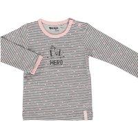 Dirkje! Meisjes Shirt Lange Mouw – Maat 74 – Grijs – Katoen/elasthan