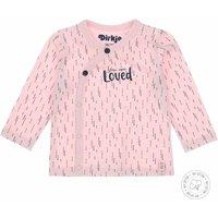 Dirkje! Meisjes Shirt Lange Mouw – Maat 50 – Lichtroze – Katoen/elasthan