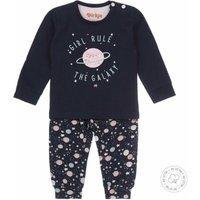 Dirkje! Meisjes Pyjama – Maat 116 – Donkerblauw – Katoen/elasthan