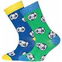 Ewers! Jongens 2-pack Sokken – Maat 38 – All Over Print – Katoen/polyamide/elasthan