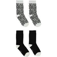Ewers! Meisjes 2-Pack Sokken – Maat 38 – Diverse Kleuren – Katoen/polyamide/elasthan