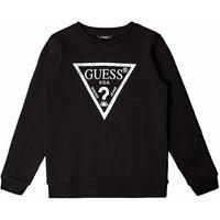 Guess! Meisjes Sweater – Maat 152 – Zwart – Katoen