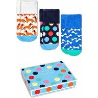 Happy Socks! Jongens 2-pack Sokken – Maat 68 – All Over Print – Katoen/polyamide/elasthan