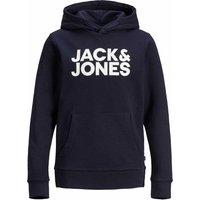 Jack & Jones! Jongens Sweater  – Maat 164 – Donkerblauw – Katoen/polyester