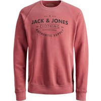 Jack & Jones! Jongens Trui – Maat 164 – Steenrood – Katoen