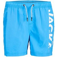 Jack & Jones! Jongens Zwemshort – Maat 176 – Blauw – Polyester