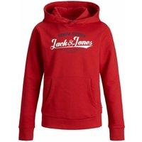 Jack & Jones! Jongens Sweater – Maat 176 – Rood – Katoen/polyester