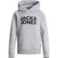 Jack & Jones! Jongens Trui – Maat 164 – Grijs – Katoen/polyester/viscose