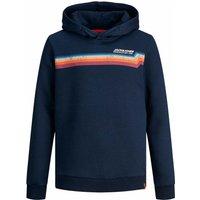Jack & Jones! Jongens Sweater – Maat 176 – Donkerblauw – Katoen/polyester