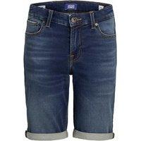 Jack & Jones! Jongens Bermuda – Maat 176 – Denim – Jeans