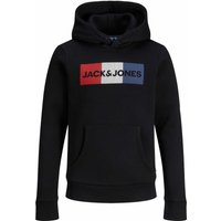 Jack & Jones! Jongens Sweater – Maat 176 – Zwart – Katoen/polyester
