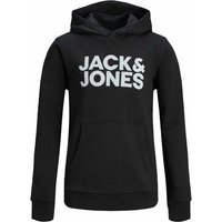 Jack & Jones! Jongens Sweater – Maat 164 – Zwart – Katoen/polyester