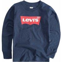 Levis! Jongens Shirt Lange Mouw – Maat 80 – Donkerblauw – Katoen