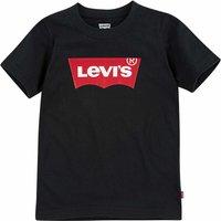 Levis! Jongens Shirt Korte Mouw – Maat 116 – Zwart – Katoen