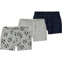 Name It! Jongens 3-Pack Boxer – Maat 128 – Diverse Kleuren – Katoen/elasthan