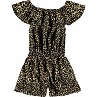 Name It! Meisjes Jumpsuit – Maat 128 – All Over Print – Polyester/elasthan
