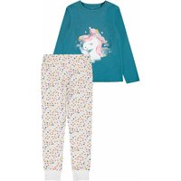 Name It! Meisjes Pyjama – Maat 164 – Diverse Kleuren – Katoen/elasthan