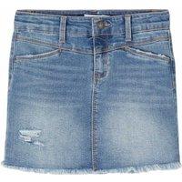 Name It! Meisjes Rok – Maat 140 – Denim – Jeans