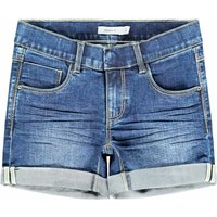 Name It! Meisjes Korte Broek – Maat 164 – Denim – Jeans