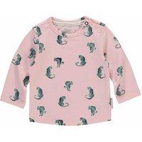 Quapi! Meisjes Shirt Lange Mouw – Maat 62 – Roze – Katoen/elasthan