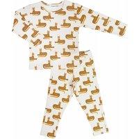Trixie! Meisjes Pyjama – Maat 140 – All Over Print – Katoen
