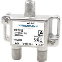 Hirschmann CATV SINGLE TAP 1x 8.5 dB TFC 0811 (TFC 0811)