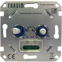 Tradim 2494 duo dimmer PRO voor LED 2x 3-100W