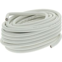 Q-link COAX-kabel HQ 7mm wit 20m