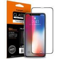 Spigen Full Cover Glass Protector Apple iPhone 11 Pro / iPhone X/XS Zwart