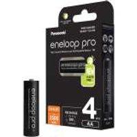 Panasonic eneloop PRO oplaadbare AA batterij 2500 mAh NiMH 4 stuks