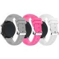 Just in Case 3 Sport bandjes voor Samsung Gear S3 Classic / Frontier - (SET V)